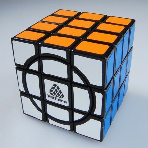 WitEden Super 3x3x4 Magic Cube Black