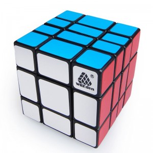 WitEden 3*3*4 Mixup Cube(Black,official version)