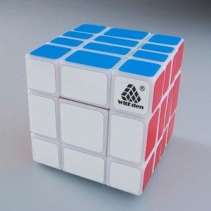 WitEden 3*3*4 Mixup Cube(White,official version)