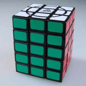 WitEden Super 3x3x5 Magic Cube Black