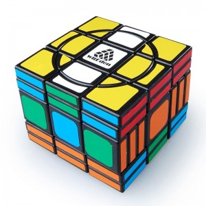 WitEden Super 3x3x5 Magic Cube(Black)