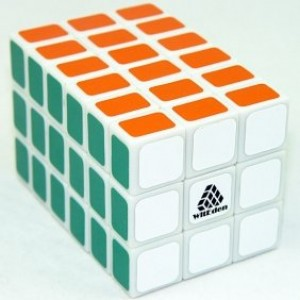 WitEden Fully Functional 3x3x6 Magic Cube White
