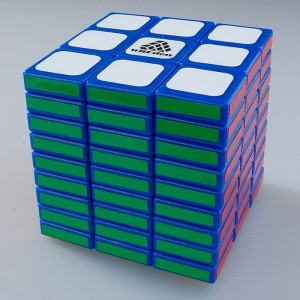 WitEden Cubic 3x3x9 Magic Cube(Blue)(Limit)