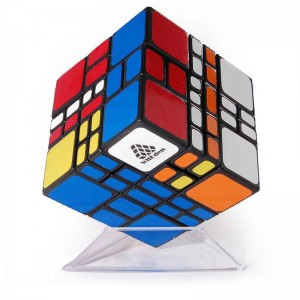WitEden 4x4x3 Mixup Plus Magic Cube Black