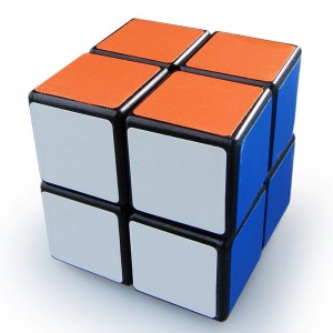 YJ 2x2 Puzzle Cube Black