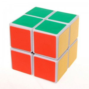 YJ 2x2 Puzzle Cube White