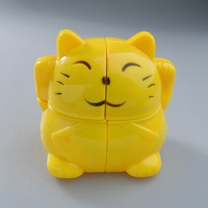 YongJun (YJ) Lucky Fortune Yellow Cat Magic Cube