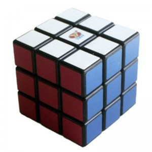YJ 3x3 Speed Cube Black