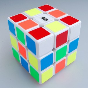 MoYu WeiLong 3x3x3 Speed Cube Magic Cube White