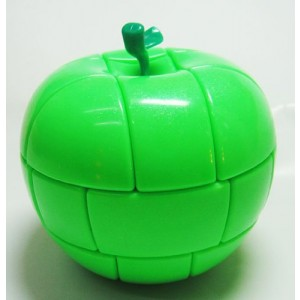 YongJun (YJ) 3x3 Apple Puzzle, Cube Green