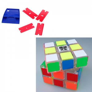YJ Moyu Huanying 3x3x3 Speed Cube Transparent