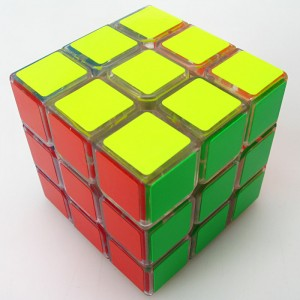 YJ Moyu Weilong 3x3x3 57mm Speed Cube Transparent