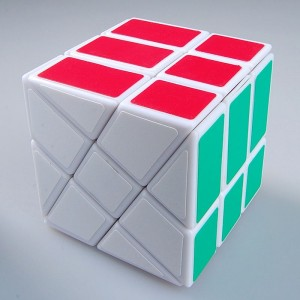 YJ Windmill Cube White