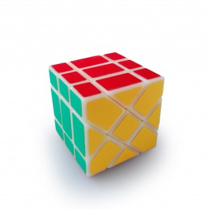 YongJun (YJ) YiLeng Fisher 3x3x3 Speed Cube Puzzle, Primary