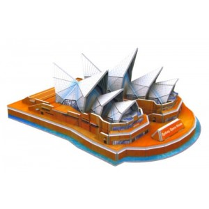 Sydney Opera House 3D Puzzle, 34 Pieces