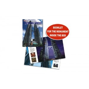Holiday Gift, Petronas Towers, Plastic Model, 3d Puzzle,