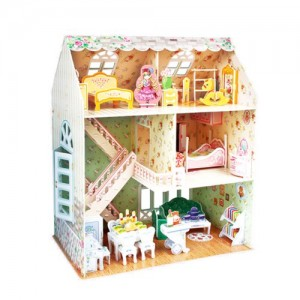 Cubic Fun P645H Dreamy Dollhouse Puzzle