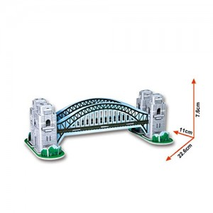 Cubic Fun 3D Puzzle - Sydney Harbour Bridge (S3002h)
