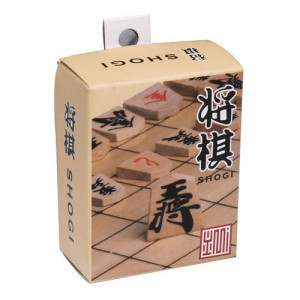 Wooden Shogi Japanese Chess Pieces