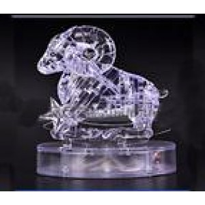 Cartoon Puzzle Toy transparent Aries Model
