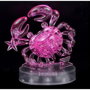 Cartoon Puzzle Toy Pink Cancer Model