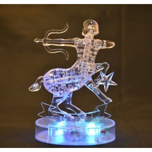 Cartoon Puzzle Toy Transparent Capricorn Model