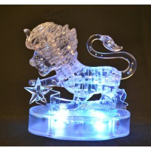 Cartoon Puzzle Toy Flash transparent Leo Model