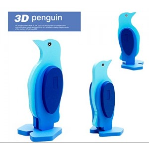 3-D Wooden Puzzle Affordable Gift for your Little One!(penguin)