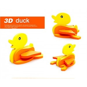 3-D Wooden Puzzle Affordable Gift for your Little One!(Duck)