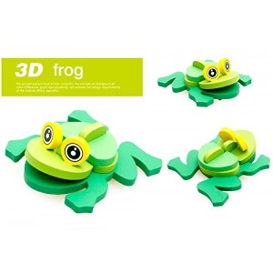 3-D Wooden Puzzle Affordable Gift for your Little One!(frog )