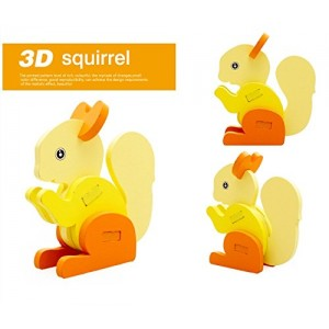 ThinkMax 3-D Wooden Puzzle Affordable Gift for your Little One!£(Squirrel )