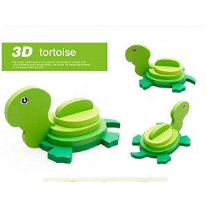 3-D Wooden Puzzle Affordable Gift for your Little One!(Tortoises )
