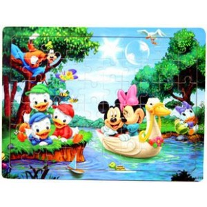 New Arrived Wooden Puzzle Deluxe 60-pieces Jigsaw Puzzle Kids Educational Wooden Toys
