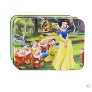 Cartoon Puzzle Toy Snow White and the Seven Dwarfs Model