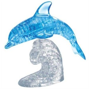Original 3D Crystal Puzzle - Deluxe Dolphin