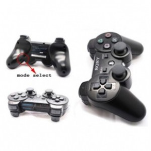 Genuine PS3 6 Modes Rapid Fire Dual Shock  Controller
