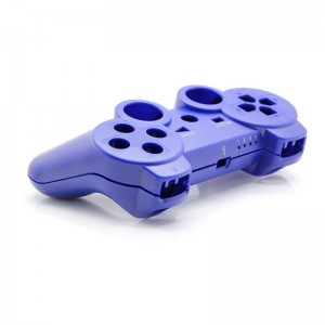 Full Housing Shell Case with Buttons for PS3 Wireless Controller (Blue)