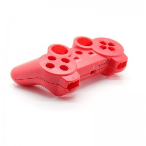 Full Housing Shell Case with Buttons for PS3 Wireless Controller (Red)
