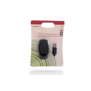 Wireless Gaming Receiver for Xbox 360 (Black)