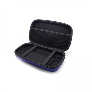 Protective Dual Zippers EVA Hard Carrying Case for Nintendo Wii U