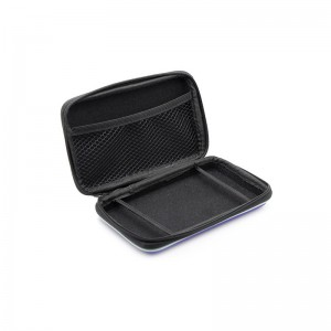 Stylish PU Leather Protective Hard Carrying Case for 3DS LL