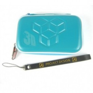 3DS Airform Game Pouch Aqua Blue