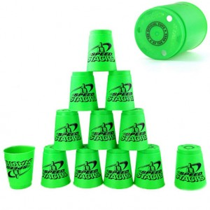 Qiyun SSpeedStacks  Cup Sets the Old Series Green