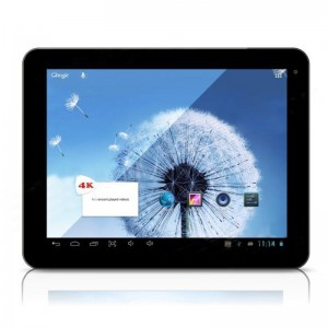 Freelander PD80-HD 9.7-inch Capacitive Screen Android 4.1 Quad Core Tablet PC w/ Wi-Fi / Camera - Silver