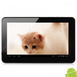 Zenithink C93 10-inch Capacitive Screen Android 4.1 Dual Core Tablet PC w/ 1 GB ROM / 8 GB RAM - Black