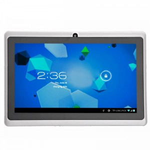 Q88 Allwinner A13 1.2GHz 512 MB/4 GB Android 4.0 7-inch Capacitive Touch Screen Tablet PC with WiFi Front-Camera (White)
