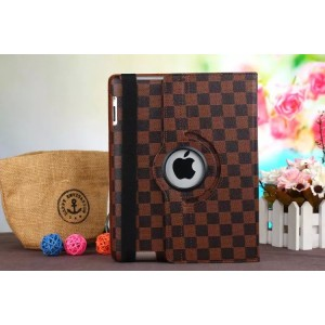 Eastvita 360 Rotating Leather Case Smart Cover Stand for Apple iPad mini123 brown