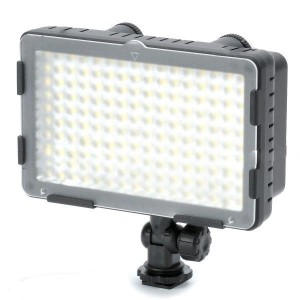 CN-160CA Dual Color Temperature 9.6W 2600~7500K 160-LED Video Light for Camera (7.2~12V)