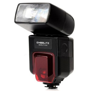 Emoblitz D35AFN Autofocus TTL Digital Flashgun for Nikon D5000 / D3X / D90 / D700 / D400 - Black