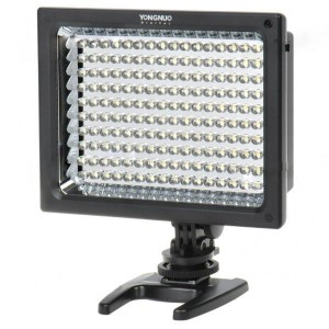 YONGNUO YN-160S 5500K 16-Mode 160-LED Video Light for DSLR